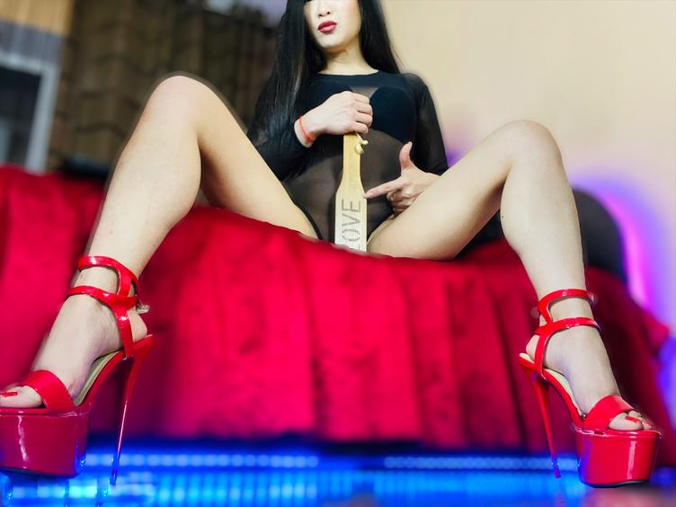 You can be only a slave for Me and nothing but a slave. That means that you will treat me with respect, it means that you are here to listen and obey.