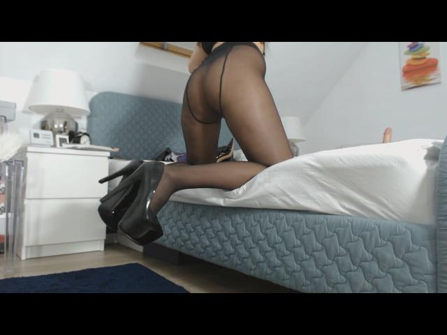 sexy Blowjob Mädchen in Strumpfhosen