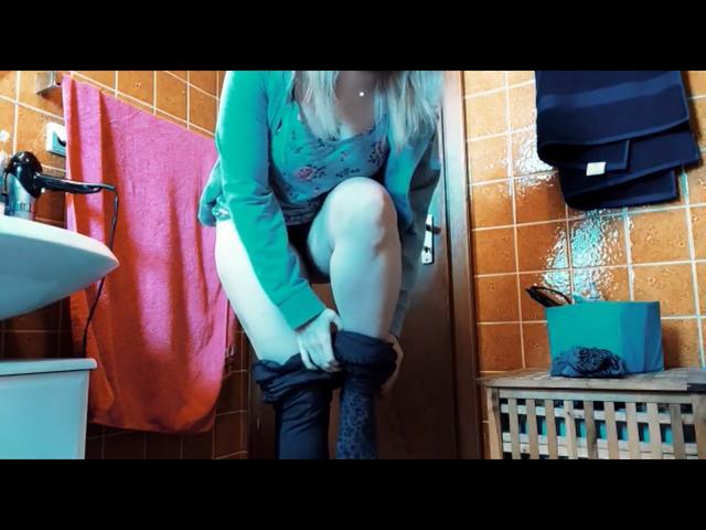 Dreckige Füße Waschen